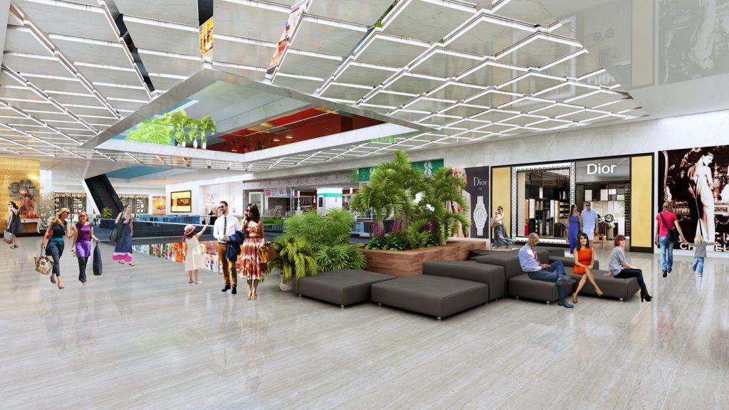 Trung tâm mua sắm đẳng cấp với những thương hiệu hàng đầu thế giới tại soleil ánh dương